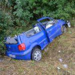 Unfall zwischen Erfurt und Weimar: Schwerverletzte im Wagen eingeklemmt