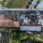 Großbrand in Gera - Schaulustige drehen einfach Hydranten zu