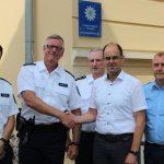 Amtseinführung des neuen Kontaktbereichsbeamten für Treffurt