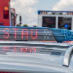 Lastzug fährt bei Gera in die Böschung - Fahrer verstirbt an der Unfallstelle