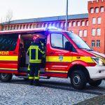 Brand in der Tiefgarage: Feuerwehreinsatz im Justiz-Zentrum in Meiningen