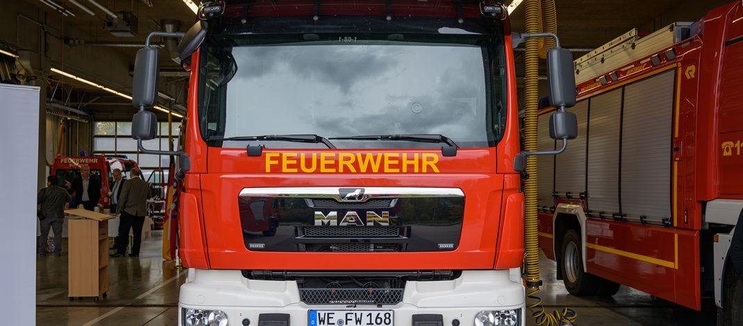 Gerätewagen-Kulturschutz an die Berufsfeuerwehr Weimar übergeben