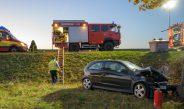 Unfall zwischen Umpferstedt und Mellingen: Opel kracht gegen Baum