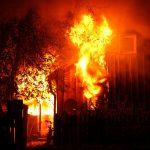 Haus bei Brand in Kleinfurra zerstört - Bewohner und Feuerwehrleute verletzt