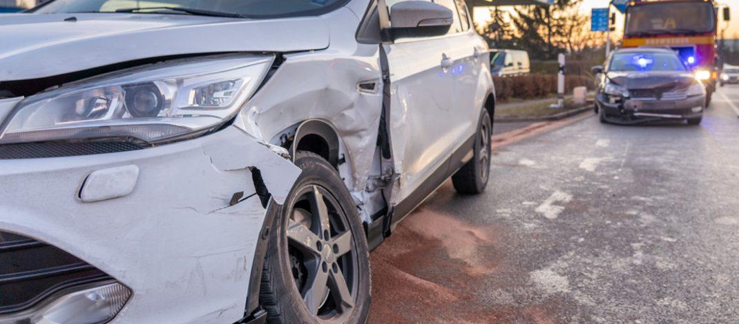 Glück gehabt: Unfall in Bad Berka blieb bei teurem Blechschaden
