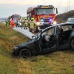 BMW verunfallt auf der A38 bei Nordhausen - Insassen leicht verletzt