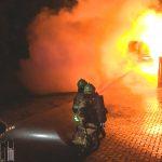 Garage und Auto brennen in Zeulenroda - Mann erlitt Rauchgasvergiftung