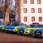 264 neue Funkstreifenwagen für die Thüringer Polizei im Wert von 14 Millionen Euro