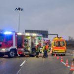 Unfall bei Mellingen mit Schwerverletzten - Verursacher geflüchtet