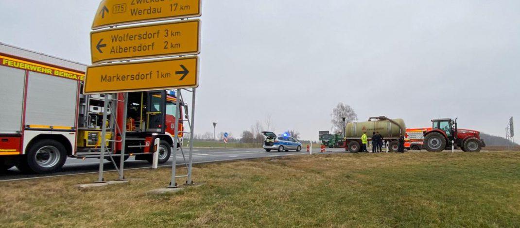 Landwirt übersieht Radfahrer im Landkreis Greiz: Mann stirbt in Klinik