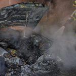 Erst Rauchentwicklung im Motorraum: BMW brennt in Weimar komplett aus