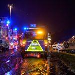 Schneefall sorgt für mehrere Unfälle auf der A4 bei Weimar