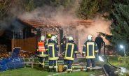 Hoher Sachschaden bei Brand in Saunalandschaft bei Erfurt