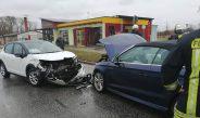 Zwei Verletzte nach Frontalzusammenstoß in Ebeleben