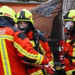 Brennende Matratze löst Feuerwehreinsatz in Eisfeld aus - Bewohner verletzt