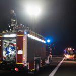 Fußgänger auf der A4 bei Hermsdorf von Fahrzeug erfasst und tödlich verletzt