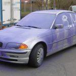 BMW in Jena komplett eingesprüht: Hat jemand die Täter beobachtet?