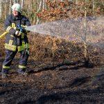 Gleich zwei Einsätze an einem Tag: Ödland brennt im südlichen Weimarer Land