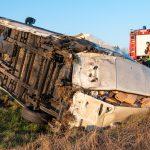 Zwei Verletzte nach Auffahrunfall auf der A4 zwischen Apolda und Weimar