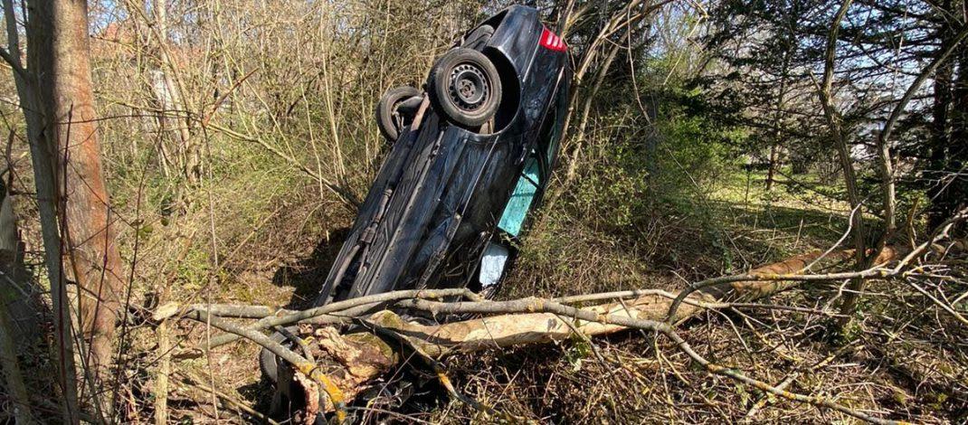 Am Vormittag schon 1,3 Promille: 19-Jähriger bei Unfall in Erfurt schwer verletzt