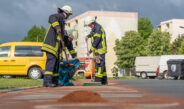 Kilometerlange Dieselspur fordert Wehren in Blankenhain und Magdala