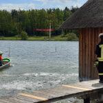 Windböe erfasst Boot auf Stausee Hohenfelden - Unterkühlter Skipper gerettet
