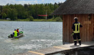 Windböe erfasst Boot auf Stausee Hohenfelden – Unterkühlter Skipper gerettet