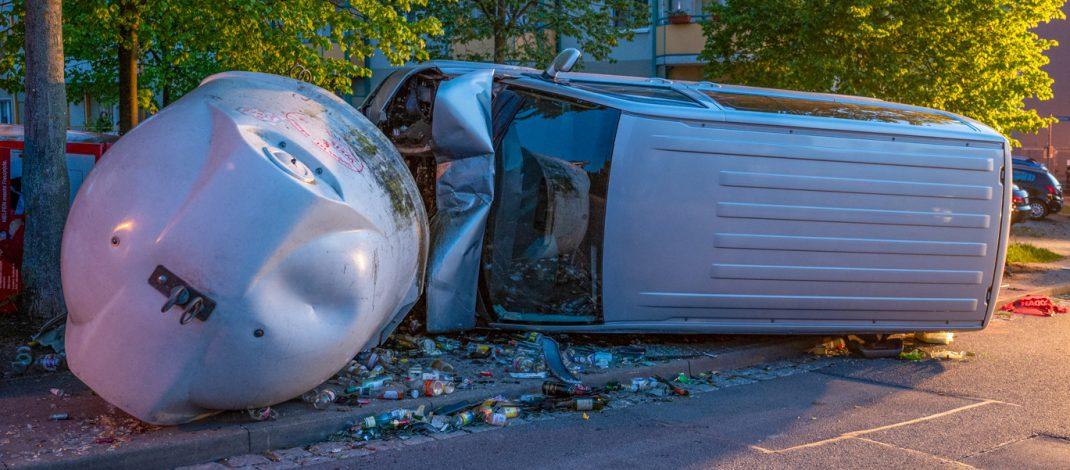 Schwerer Unfall in Kranichfeld: Alkohol und zu hohe Geschwindigkeit ursächlich?
