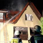 Gebäudebrand in Heiligenstadt durch Gasheizgerät ausgelöst