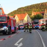 Wohnungsbrand in Heiligenstadt: Sieben Personen über Treppenhaus gerettet