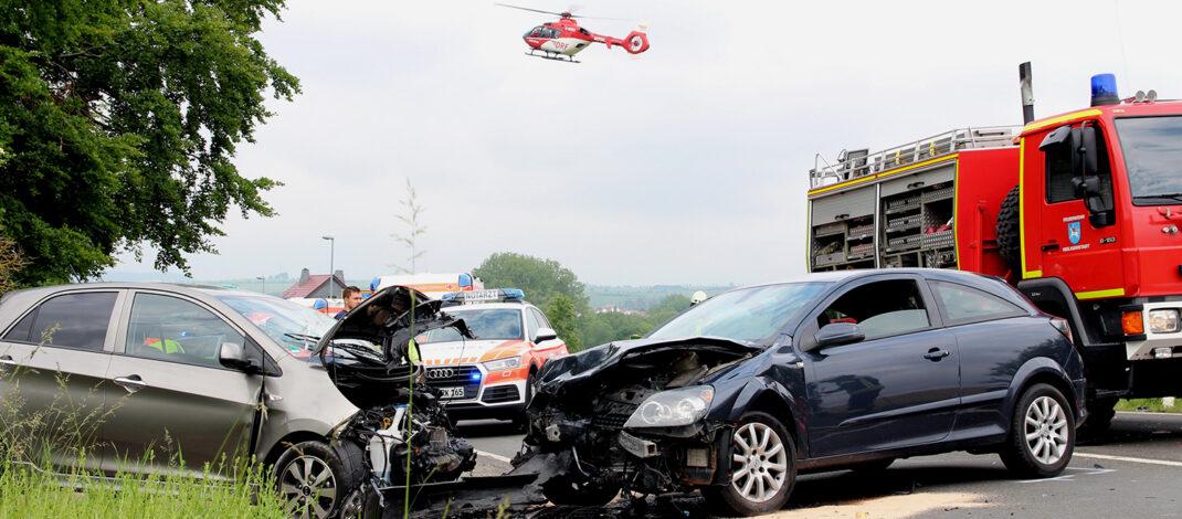 Unfall A4 Gestern Abend