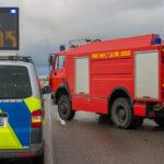 46-Jähriger bei Arbeitsunfall auf der A4 bei Gotha tödlich verunglückt