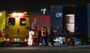 Sechs afghanische Jugendliche in LKW-Auflieger im GVZ Erfurt eingeschlossen