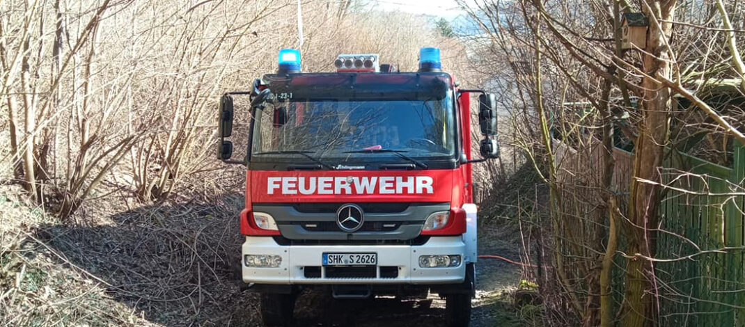 Müllverbrennung nah am Wald: Feuerwehr Dornburg-Camburg muss anrücken
