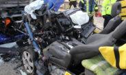 Audi kracht in Laster: Tödlicher Unfall auf der B247 bei Leinefelde-Worbis