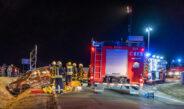 Zwei Schwerverletzte nach Vorfahrtsfehler im Weimarer Land – Frau eingeklemmt