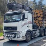 Großkontrolle auf Parkplatz der A9: Trauriger Spitzenreiter insgesamt 13 Tonnen zu schwer