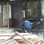 Viertes Feuer innerhalb kurzer Zeit in Feldengel: Wann wird der Feuerteufel gefasst?