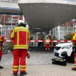 Unbekanntes Pulver in Briefsendung fordert Großeinsatz in Erfurt