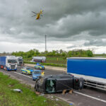Schwerer Unfall auf der A4 bei Magdala: Bei Aquaplaning die Kontrolle verloren