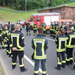 Feuerwehren üben im Heidkopftunnel - Wartungsarbeiten für Ausbildung genutzt