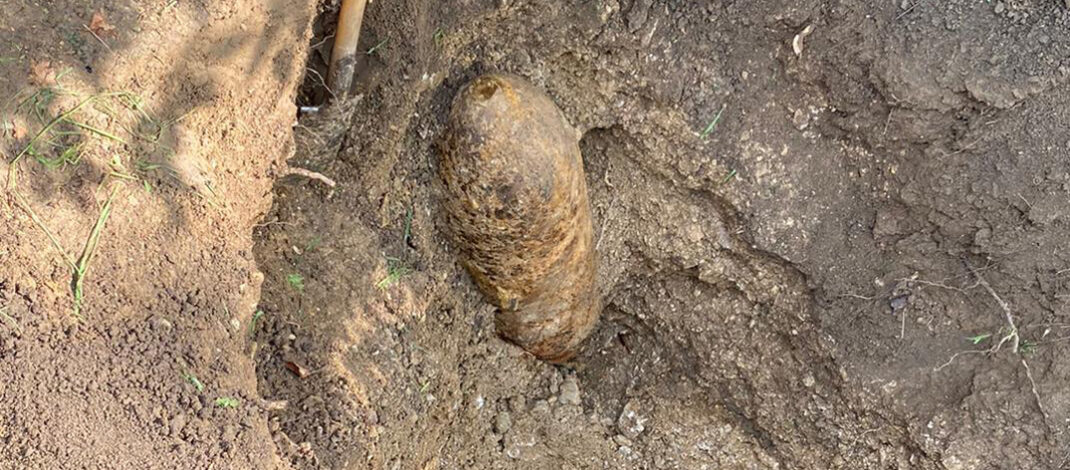 227 kg schwere Blitzbombe im Landkreis Nordhausen entschärft