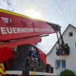 Wohnungsbrand in Rustenfelde schnell gelöscht - Bewohnerin leicht verletzt