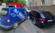 Zu heiß und wenig getrunken: Unfall in Erfurt mit hohem Sachschaden