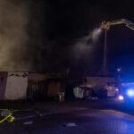 Feuer in Großbäckerei in Wutha-Farnroda: Mehr als 100 Kräfte im Einsatz
