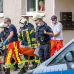 Blutige Auseinandersetzung in Blankenhain: Frau sticht auf Lebensgefährten ein