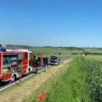 Überholen ging schief: Motorradfahrer nahe Amt Wachsenburg schwer verletzt