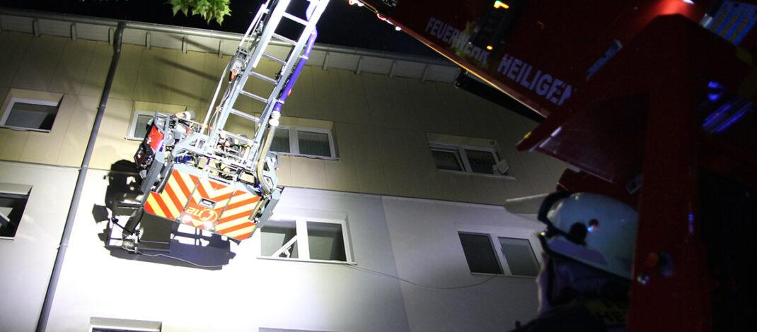 Rauchwarnmelder alarmieren aufmerksame Anwohner in Heiligenstadt