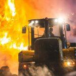 Wieder brennen Strohballen in Zeulenroda-Triebes: Wann wird der Brandstifter gefasst?