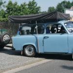 Trabbi in Weimar überladen: Polizist staunte offenbar nicht schlecht